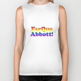FarQue Abbott! Biker Tank