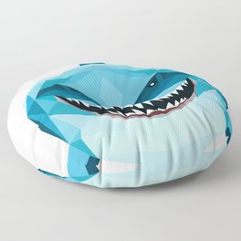 shark blue Floor Pillow