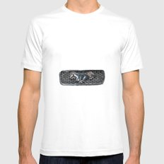 Grill MEDIUM White Mens Fitted Tee