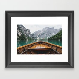 Live the Adventure Framed Art Print