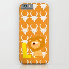 l for lion iPhone 6s Slim Case