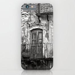SICILIAN MEDIEVAL FACADE iPhone Case