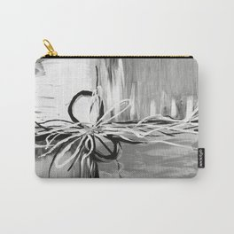 Abstract modern, black white Carry-All Pouch