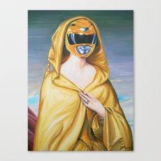 Portrait Of A Yellow Ranger Canvas Print