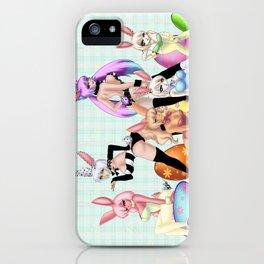 Play Bunnies iPhone Case