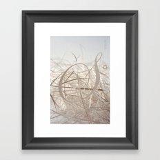 Sensual Scrap Framed Art Print