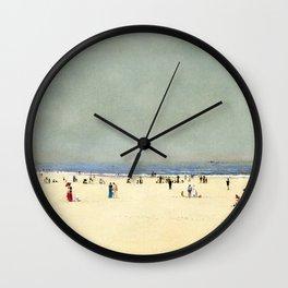 Sand, Sea and Sky: A Summer Fantasy by John Atkinson Grimshaw Wall Clock