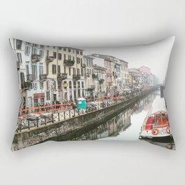 Milano Navigli - Italy Rectangular Pillow