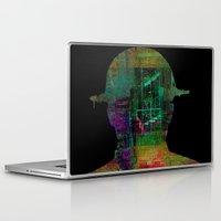 oil Laptop & iPad Skins featuring oil worker by Joe Ganech