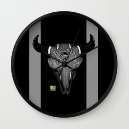 Buffalo Bison Wall Clock