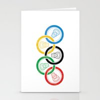sports Stationery Cards featuring sports drink by Jordan Horstman