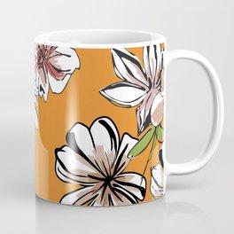 Pattern Floral Coffee Mug