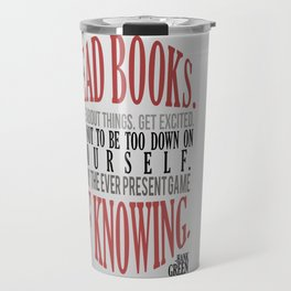 Care About Things Travel Mug