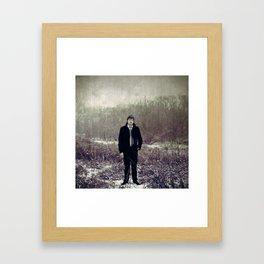 The dead weather. Framed Art Print
