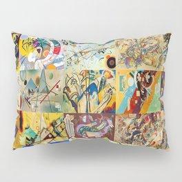 Wassily Kandinsky Montage Pillow Sham