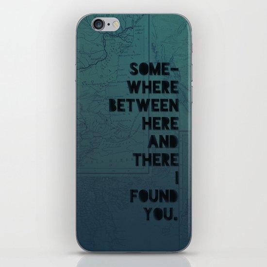 Here & There II iPhone & iPod Skin
