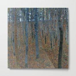 Gustav Klimt - Beech Grove Metal Print
