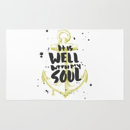It is Well With My Soul Rug