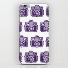 I Still Shoot Film Holga Logo - Deep Purple iPhone Skin