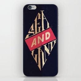 Sea and Land iPhone Skin