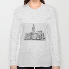 Wayne County Court House | Detroit Michigan Long Sleeve T-shirt