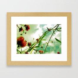 Ladder to the Sky Framed Art Print