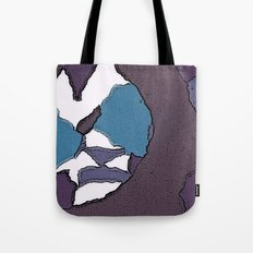 Man face Tote Bag
