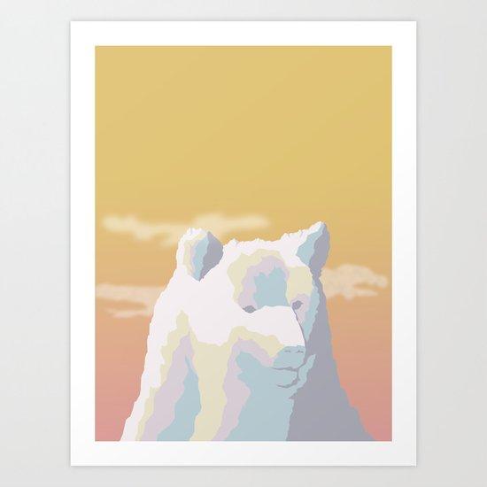Mountain Bear Art Print