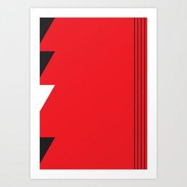 Geometric Calendar - Day 43 Art Print