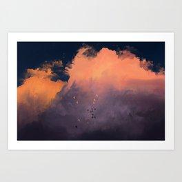 The Limit Art Print