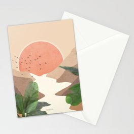 Africa Oasis Stationery Cards
