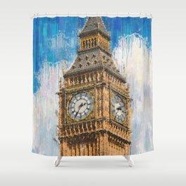 Big Ben of London Shower Curtain
