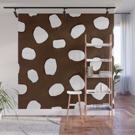 Hot Chocolate Print Wall Mural