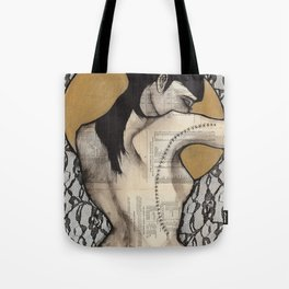 Lace I Tote Bag