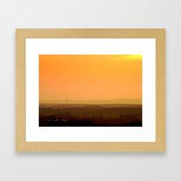 Sunrise Hills Framed Art Print