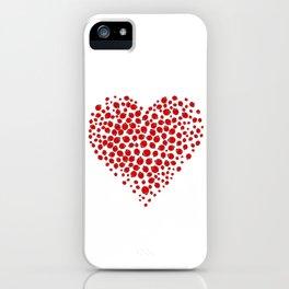 Ladybug heart iPhone Case