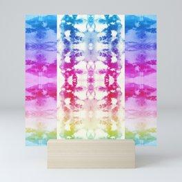 Tie Dye Rainbow Mini Art Print