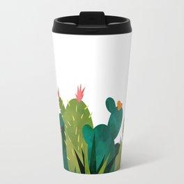 Cactus Watercolor Print Travel Mug
