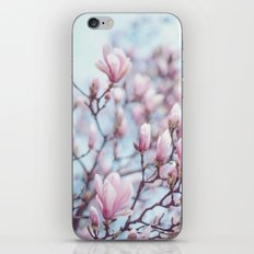Magnolia Blossom iPhone Skin