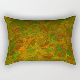 Abstract Garden Rectangular Pillow