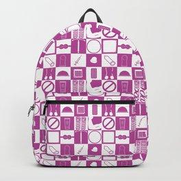 Contraception Pattern (Purple) Backpack
