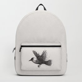 Flying jackdaw Backpack