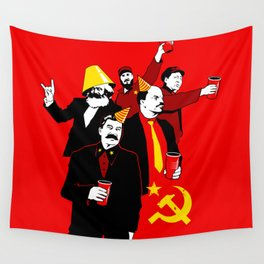 The Communist Party (variant) Wall Tapestry