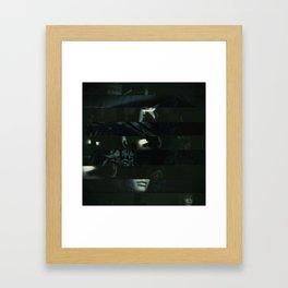 Mixed Media abstract art Framed Art Print