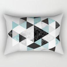 Graphic 202 Turquoise Rectangular Pillow