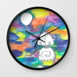 Robbie The Robot Wall Clock