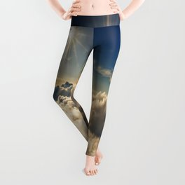 clouds (Above The Heavenly Clouds) Leggings