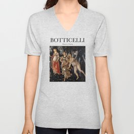 Botticelli - Allegory of Spring Unisex V-Neck