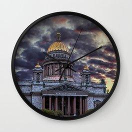 Saint Isaac's Cathedral Wall Clock