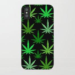Marijuana Green Weed iPhone Case